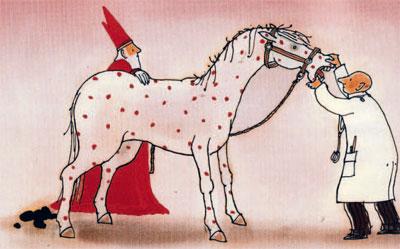 Afbeeldingsresultaat voor het paard van sinterklaas is ziek